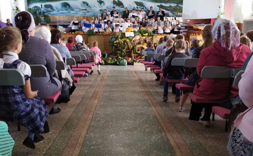 Erntedankfest in Susanowo